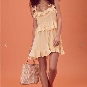 For love and lemons limoncello mini dress